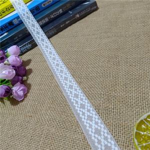 S2731 2.3cm Chantilly flowery color elastic soft mesh eye spandex elastic white lace decorative skirt table cloth umbrella