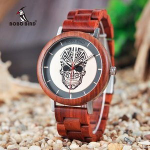 BOBO BIRD Wooden Timepieces Men Watches Fashion Wood New Design Quartz Wristwatch Accept DROP SHIPPING