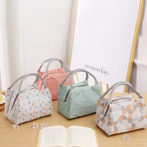 Tote Lunch Bag Thermal Student Bags Insulated Cooler Case Travel Picnic Outdoor For Kids Portable Office Workers Dlxha