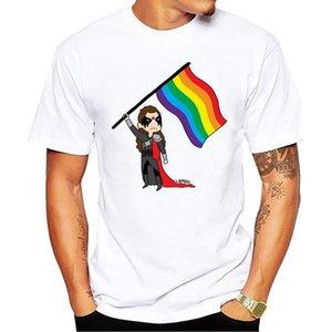 Lexa - prêt à combattre Hip-Hop Conception simple T-shirt Tops court Top O-Neck T-shirt pour hommes