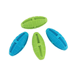 Oval silicone dog toothbrush cleaning brush to remove bad breath and tartar dog cleaning massager training toy chewing to increase pet fun
