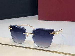 0130 Mode für Männer Sonnenbrillen-Verpackungs-Sunglass-Quadrat-Rahmen UV-Schutz-Objektiv Carbon-Faser-Legs-Sommer-Art Hochwertiger Kasten