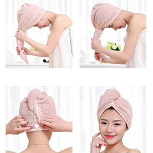 faroot 2020 New Women Bathroom Super Absorbent Quick-drying Thicker microfiber Bath Towel Hair Dry Cap Salon Towel