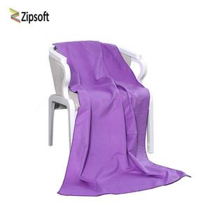 Zipsoft Марка Пляж + полотенца Microfiber Полотенце Yoga Mat Компактное Gym Спорт Кемпинг бассейн быстрой сушки Soft 2020