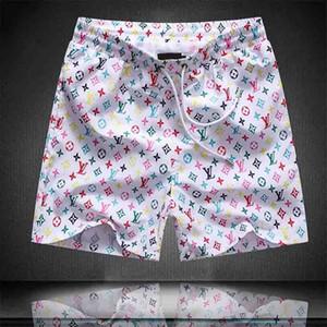 20SS الرجال القرود السراويل القصيرة casua جديد الموضة للنساء اللون شورت للرجال صيف شاطئ السراويل السباحة للرجال الرياضة الهيب هوب نمط A1
