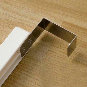 5 Hole Экономия пространства хранения двери вешалки Вешалка откидной подставка Дом с крюком сушильного шкафа Организатор Практического Durable