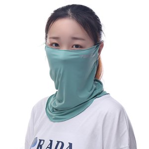 Ear-hanging mask outdoor leisure dustproof sunscreen headscarf cool cooling breathable civil scarf batch