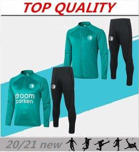 2020 2021 Rotterdam giacche di addestramento di calcio kit 20/21 Feyenoord Camisola de Futebol KOKCU Berghuis v.persie Calcio giacche set tuta