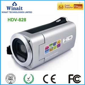 Winait cámara de vídeo digital Grabación de vídeo HDV-828 con la advertencia de batería baja luz LED