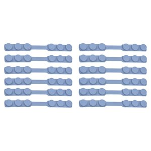 12Pcs Mask Strap Extender No-Tightening Mask Holder Hook Ear Strap Accessories Ear Grips Buckle Pain Relieved