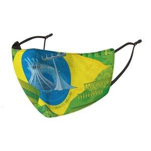 Bandiere di sconto Cotone maschere Grooth Naso panno United Arab copertura in Australia confezionato singolarmente Unito Paesi Hllzx