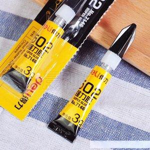3g Super Glue 502 instantâneo de secagem rápida Adhesive ligação rápida forte para Couro Borracha metal frete grátis