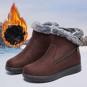 Women Boots 2020 Fashion Waterproof Snow Boots for Winter Shoes Women Casual Lightweight Ankle Botas Mujer Warm Winter