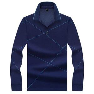 Tee JUNGLE ZONE uomini di marca 2020 Moda Camisa Camicie maniche lunghe uomo colletto della camicia da uomo traspirante Top 8602