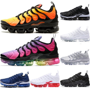 Mercurial Sneakers Chaussures Homme TN Basketball Shoes Men Womens Zapatillas Mujer Mercurial TN Running Shoes 36-45 Sport Running Shoes