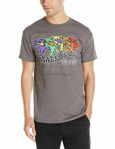 Grateful Dead Trippy Медведи Классический T-Shirt