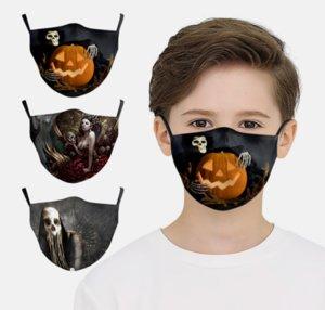 Design Máscaras Face Mask Joker Face Masks Mask Filtro Lavável Halloween Cosplay Crianças Crianças Impressão Com Proteção Algodão PAR BHVXT