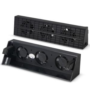 PS4 Ince Akıllı Sıcaklık Kontrolü Soğutma Fanı Soğutucu Sony PlayStation 4 PS4 Için Slim Konsol