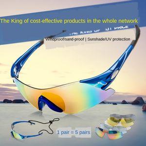 ByY2B ROBESBON montando Óculos de alta definição no exterior miopia Sun óculos esportes / equitação ROBESBON fronteiras exterior Goggles Óculos alta defi