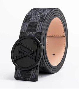 Moda Alloy mulheres homens Cinto de luxo de cadeia para mulheres homens cinto de couro genuíno novo estilo de moda 46ee Pin Buckle calça jeans decorativa