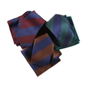 Business Casual Tie Pocket Towel Suit Men's Shirt Accessories Gifts Classic Trendy Wide Stripes Occupation Suit Necktie