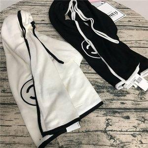 Moda Estilo lenços para as mulheres Outono Inverno sólida Lã Cor Preto Branco Pasimina Elegante exterior elegante senhora Lenços