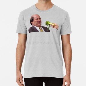 La Oficina Kevin no le gusta Broccoli camiseta de la oficina Kevin Broccoli programa de televisión Food Jim Pam