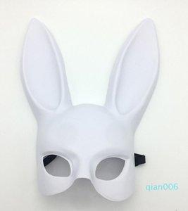 Kız Parti Moda Kadınlar Cosplay Sevimli Komik Cadılar Bayramı Dekorasyon Bar Nightclub Kostüm Tavşan Kulakları Maske