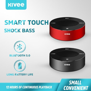 KIVEE Mini Portable Bluetooth Speaker Wireless Waterproof Speakers Soundbar Loudspeaker Outdoor For Samsung Huawei