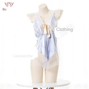 Падом bKwBl Шепот луна под сексуальное женское белье пижамы кружева JUMP р Нижнее белье красивые кружева пижамы Nightdress прозрачный костюм