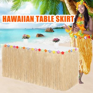 109 149pcs Table Skirt Style Fringe Party Decoration Kit for Tiki Tropical Hawaii or Themed Birthday J2Y
