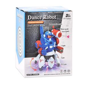 Dance Robot Tiktok Новинка Игрушка GAG LED Легкий Подарок Пение Ребенок Подарок Intelligent04