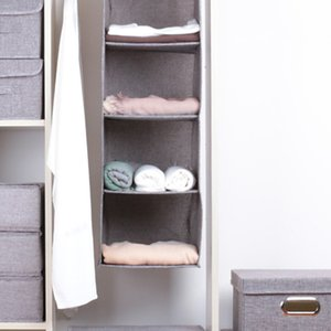Drawer Shelves Hanging Wardrobe Organizer Storage Box Shoes Clothes For Bedroom-30