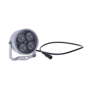 4 LED Infrared Night IR Vision Light illuminator Lamp For IP CCTV CCD Camera New LX9A