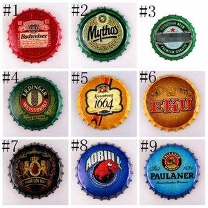 Bottiglia Lxl303a negozio vintage Cap per il manifesto disegno della birra Tin Beer metallo rotonda Caffè Restaurant Cap Corona Extra Bar Bar mestiere metallo Sig bbyQc