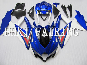 ABS-Kunststoff Motorrad-Karosserie-Verkleidung Kit Fit für Suzuki GSXR 600 750 2008 2009 2010 K8 Injection Molding Moto Hull Motor Fairing HHD285