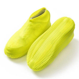 Waterproof Shoe Cover Silicone Material Unisex Shoes Protectors Rain Boots for Indoor Outdoor Rainy Days Cleaning Shoe Overshoes DHF3332