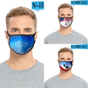 Réutilisable Designer Er Expédition Cotton Mouth Face Mask avec Valve # aq196
