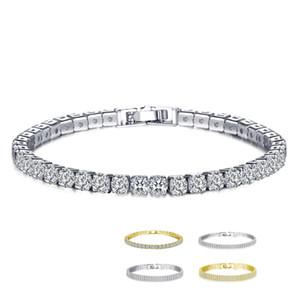 Damenmode Armband Valentinstag Souvenirs volles Bohrgerät-Kristallarmband Modische Charme Gedenk Schmuck VT1655