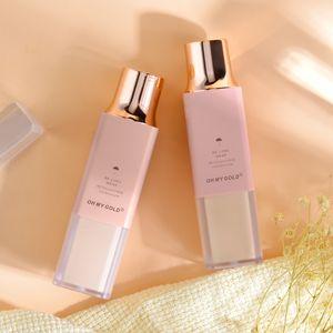 With mirror Long-lasting portable Oil control Flawless dry skin Foggy surface Liquid Foundation Powder puff Concealer Silk cream