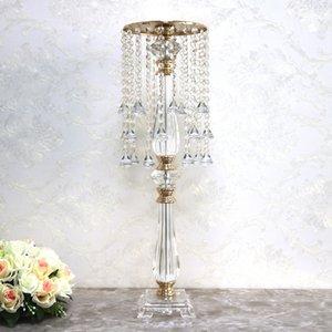 Crystal Bead campo cortina traçado viário Bead cortina e adereços orientar T-estágio decoração adereços suporte de flor ornamentos guia de estrada acrílico dQLne