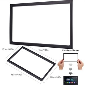 Mounting Cage Easy Install Double Din Radio Panel Stereo DVD Modification Frame Replacement Van Universal Car Auto