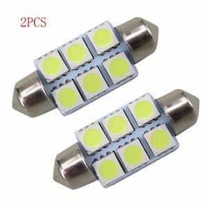 SEKINEW Bianco 36 millimetri del festone di SMD 6 LED C5W dell'automobile della luce della lampada LED Auto lampadina 12V Accessori Interni Ornamenti mzb9 #