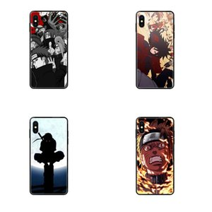 Akatsuki Логотип Наруто для iPhone 11 12 Pro 5 5S SE 5C 6 6S 7 8 X 10 XR XS Plus Max TPU Art Online Cover Case