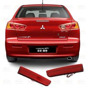 OKEEN объектива Задний бампер Отражатель фары LED задний фонарь для Mitsubishi Lancer Evolution EVO X / Outlander Sport / RVR / ASX Аксессуары