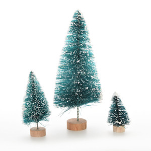 1 Pcs Christmas Tree A Small Pine Tree Placed In The Desktop Mini Christmas Decoration 3 Size