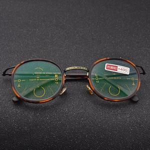 Photochromism Progressive Multifocal Reader See Far And Near Reading Eyeglasses Bifocal Presbyopia Women UV Reading Glasses NX