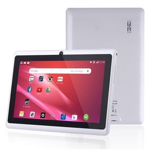 30pcs 7 inç Tablet Pc Q88 Tabletler Android Wifi Allwinner A33 Dört Çekirdekli 512m 8GB 1024 * 600 Hd Çift Kamera 3g 2800mAh Çocuklar G Öğrenme