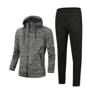 Mode für Männer Jogginganzug Designer-Sportswear Volltonfarbe Sportswear Kleidung Herren-Mode Reißverschluss Herren-Jogginganzug mehrere c laufen