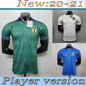 2021 Player versione ITALIA Jersey di calcio a casa BARELLA SENSI INSIGNE italia Lontano camicie bianche Terzo CHIELLINI BELOTTI Bernardeschi CALCIO